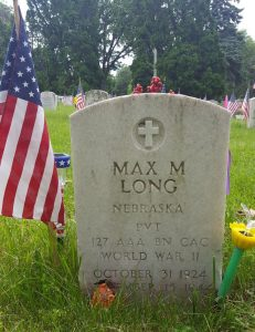 Max M. Long